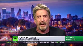 'Way too unsophisticated' - cybersecurity legend McAfee on 'Russian hack evidence'