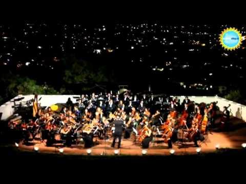 Il Concerto dell'Orchestra Giovanile Italiana ai Giardini la Mortella di Forio d'Ischia