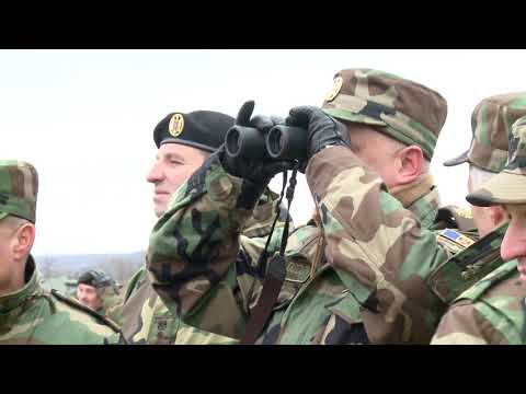 """Comandantul Suprem al Forțelor Armate a asistat la etapa finală a exercițiului """"Cetatea de Nord 2019"""""""