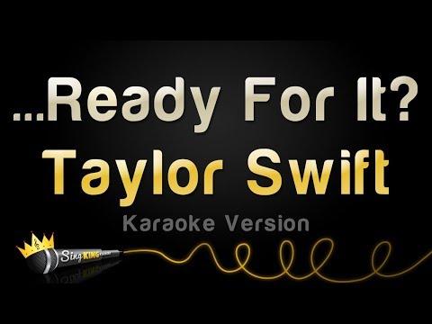 Taylor Swift - ...Ready For It? (Karaoke Version)