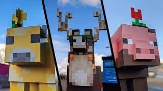 Como encontrar a Jolly Llama no Minecraft Earth! Completei TODOS os mobs do JOGO! by Pokémon GO Gameplay