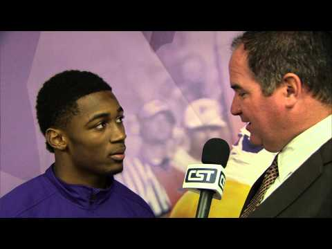 Jalen Mills Interview 12/2/2013 video.