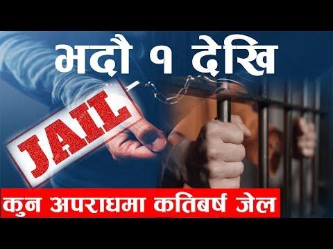 (भदौ १ गतेदेखि कुन अपराधमा कति वर्ष जेल ?   #Current_News - Duration: 17 minutes.)
