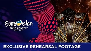 Lucie Jones will represent United Kingdom at the 2017 Eurovision Song Contest in Kyiv with the song Never Give Up On You. This was her second rehearsal. If y...
