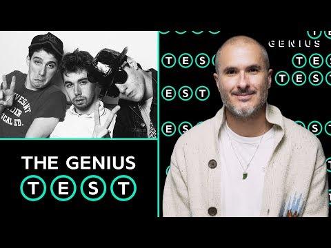Zane Lowe Takes The Beastie Boys Quiz | The Genius Test