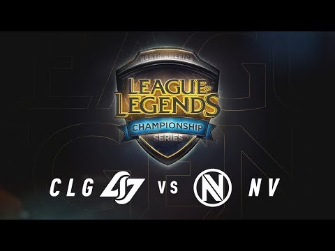 CLG Vs NV Day 2 Game 3 NA LCS Summer Split Quarterfinals CLG Vs Team Envy 2017