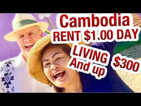 YES YOU CAN GET  $1 USD A DAY  RENT In Cambodia Is It Possible? In 2018