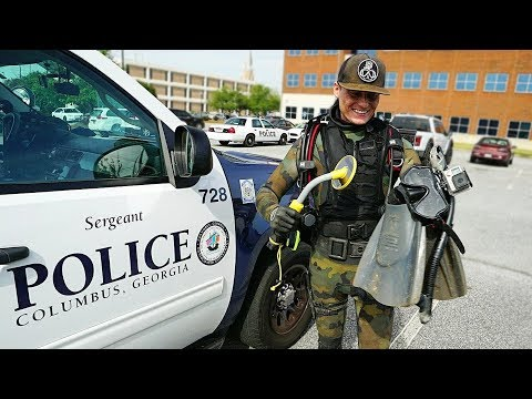 Download Video Helping The Police Find A Gun Underwater To Solve A Criminal Case! (Metal Detecting Underwater)
