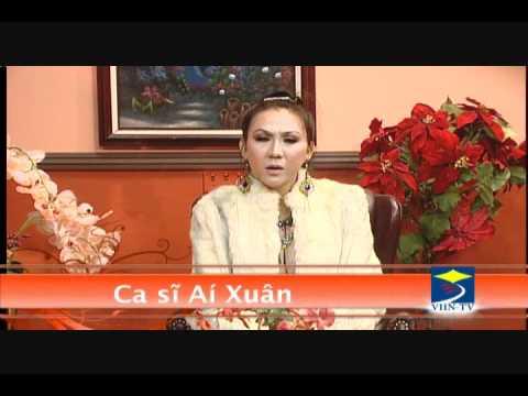 MC Trần Quốc Bảo phỏng vấn ca sĩ Ái Xuân tháng 12/2011 (part 1)