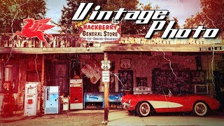 Photoshop Tutorial: How to Create the Look of Vintage, Color Photos