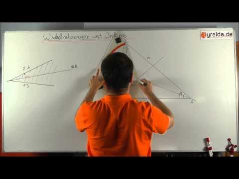 Winkelhalbierende im Dreieck