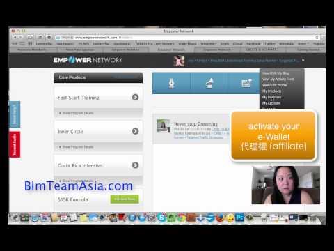 how to join BIM Big Idea Mastermind Chinese Empower Network 中文解說 BIM TEAM ASIA Cindy Lin
