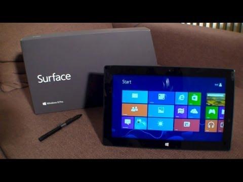Ausführlicher Microsoft Surface Pro Testbericht