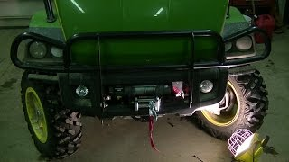 4. How to Mount a Warn Winch on a John Deere XUV Gator