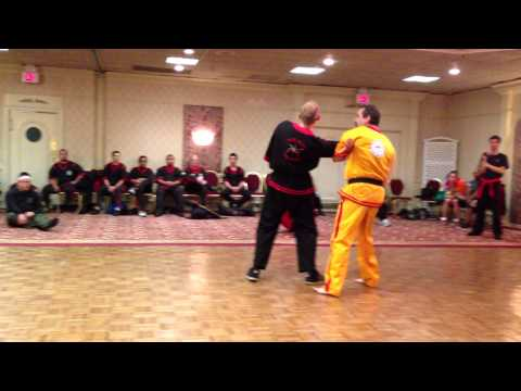 Eskrima - Steve demonstrates at the Doce Pares convention, May 25, 2013, Newark with the assistance of Master Tim Wolchek, Master Tim Mills, Guro Brian Scott, Guro Eri...