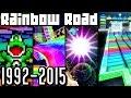 Mario Kart Rainbow Road EVOLUTION 1992-2015 (Wii U, 3DS, N64, SNES)