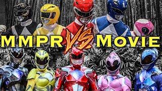 Mighty Morphin vs. Power Rangers Movie Morph