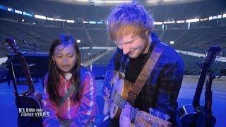 Video Ed Sheeran überrascht Tiara aus Deutschland nach NYC MP3, 3GP, MP4, WEBM, AVI, FLV Februari 2019