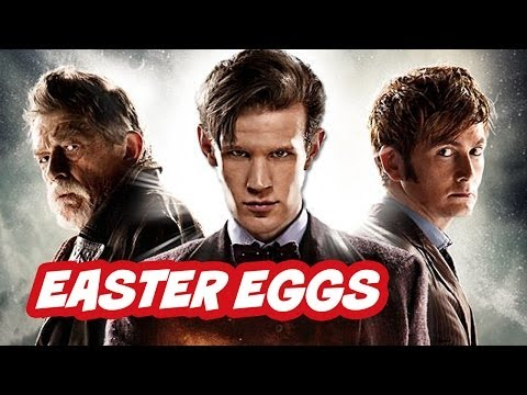 Doctor (Doctor Who) - Doctor Who 50th Anniversary Episode Easter Eggs - Part 2. Hidden references from The Day Of The Doctor. Plus Peter Capaldi 14th Doctor details. ▻ http://bit....