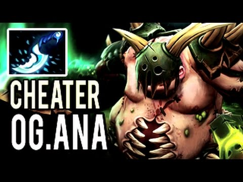 OG.Ana - NEW BEST PUDGE IN THE WORLD! Hook Cheater Dota 2