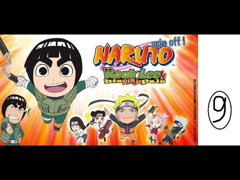Rock Lee His Ninja Pals episode 9 English dubbed