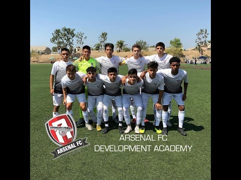 U17 Arsenal FC Development Academy Team Vs Barca Academy Norco College