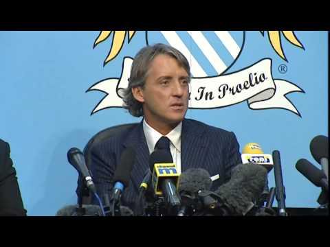 Roberto Mancini, nuevo entrenador del Manchester City