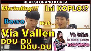 Video REAKSI COWOK KOREA dengar Via Vallen - Ddu Du Ddu Du ( Black Pink Koplo Version) MP3, 3GP, MP4, WEBM, AVI, FLV Mei 2019