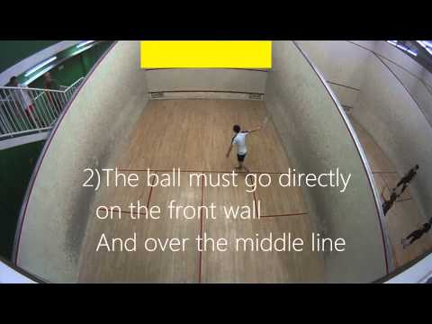 Squash Introduction – What is squash – How to play squash, The basics