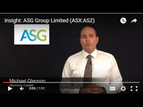 Insight: ASG Group Limited (ASX:ASZ)