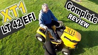 6. Cub Cadet XT1 Lawn Tractor review - XT1 LT 42 EFI