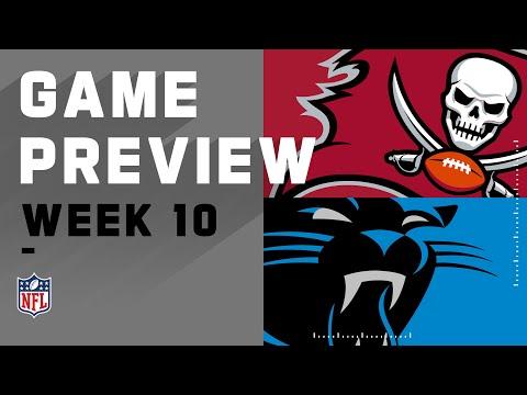 Tampa Bay Buccaneers vs. Carolina Panthers | NFL Week 10 Game Preview