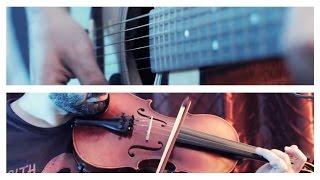 AMR DIAB - معاك قلبي   Ehab Sami موسيقى كمان وجيتار