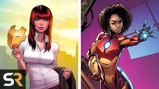 25 Characters Who Have Worn Iron Man's Armor by Screen Rant