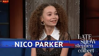 Nico Parker Thought Oprah Was 'Queen Of The World'
