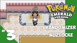 Pokemon Emerald Randomizer Nuzlocke - Ep 3 Another One by 4Blox