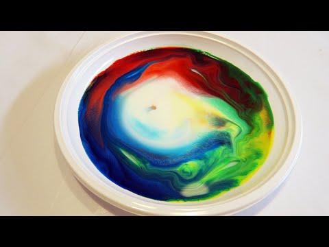 esperimenti divertenti: latte + sapone = magia