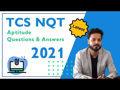 TCS NQT Aptitude Questions and Answers (Numerical Ability Questions) 2021