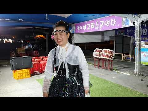 방그리품바 야간공연19/7/6🌹경주 세계 문화 유산 등축제😊방그리품바 (가수금주)야간공연 입니다