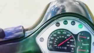 10. Vespa GTS Super 300 top speed acceleration (all stock)