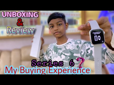 APPLE WATCH SERIES 6 || UNBOXING REVIEW || 2nd WATCH IN INDIAN 🇮🇳 || Shoaib's Vlog's