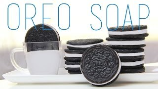 Oreo Soap Tutorial - How To Make Oreo Cookie (Food) Soap - YouTube