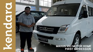 Download Video Maxus V80 Motorhome First Impression Indonesia | Kendara MP3 3GP MP4