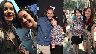I went to my second Vidcon this year and had so much fun meeting so many of you and some of my favorite YouTubers! I even had the chance to see some of the stars of Descendants 2 which you guys know I am obsessed with.Please be sure to subscribe, thumbs up, and comment!❤︎ I am a 21 year old professional geek that loves Musicals, Disney, and Pop Culture ❤︎VIDEO UPLOAD SCHEDULE I upload a new video every Wednesday & Friday at 4:30pm eastern timeSOCIAL MEDIATwitter @JonaAlmostFameInstagram jonasalmostfamousTumblr http://jonasalmostfamous.tumblr.comSnapchat jonaalmostfameIntro Animation by https://www.fiverr.com/amit98038For Sponsorships or Endorsements: jonabo@verizon.netFor Business Inquires and Collaborations: jonabo@verizon.netSupport me on PATREON https://patreon.com/jonasalmostfamousSend me things! (I reply!)JonaPO BOX 1035234 Thoms Run RdPresto, PA 15142-1169Stay beautiful you people! ❤︎