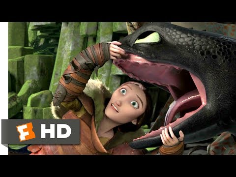 How to Train Your Dragon 2 (2014) - The Land Of Dragons Scene (4/10) | Movieclips