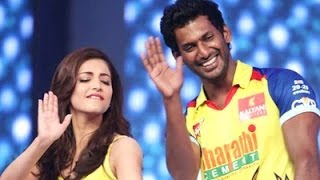 Shruti Hassan Acted With Vishal
