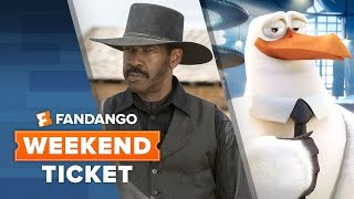 The Magnificent Seven, Storks, Queen of Katwe | Weekend Ticket by  Movieclips Trailers