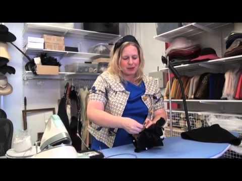 Jill Courtemanche Blocks a Felt Hat