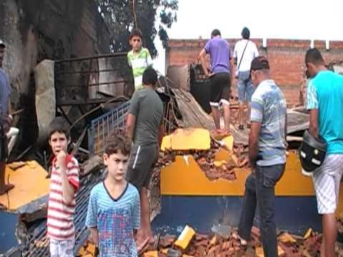 TRAGEDIA: TRINTA MINUTOS DE FOGO CONSOME LOJA EM JOÃO LISBOA MA.