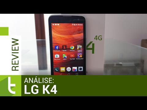 Análise LG K4  Review do TudoCelular